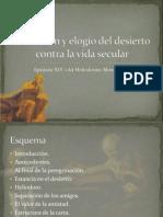 Epístola XIV de san Jerónimo «Ad Heliodorum Monachum»