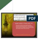 Khasiat Surah Al-thalaq (Ayat 2-3)