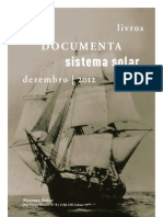 Novidades Sistema Solar e Documenta - Dezembro de 2012
