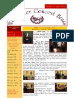 WCB Newsletter Apr 2012