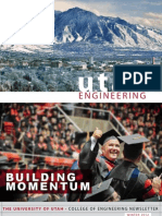 College of Engineering at the University of Utah - Fall 2012 Newsletter