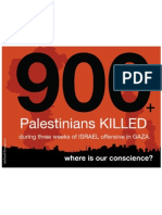 900-Lives Palestinians KILLED