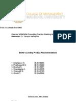 CMMU BAAC Lending Report Finalized
