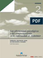 Las Alteraciones Psicologicas...a Enfermedad de Alzheimer
