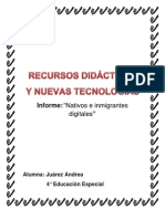Informe Nativos e Inmigrantes Digitales