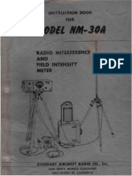 Stoddart Aircraft Radio Co. Model NM-30A Instruction Manual, June 1954.