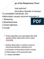 Pharmacology of the Respiratory Tract
