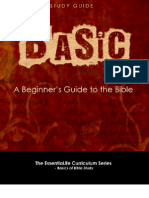 Basic-1. Bible Study Guide