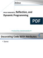 Attributes, Reflection, And Dynamic Programming