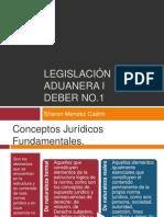 Legislación aduanera I