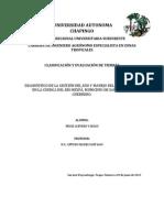 Diagnóstico de la gestion del uso y manejo del agua en la cuenca del río Nexpá. Municipio de San Marcos, Guerrero