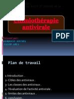chimiothérapie antivirale