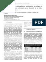 2009 - Parámetros biológicos relacionados con la eliminación de nitrógeno en fangos activos
