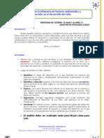 Ficha 1.1 Analizando la influencia de factores ambientales y sociales en el desarrollo del niño 2012