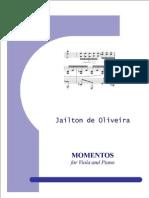 Momentos for Viola and Piano - Viola Part