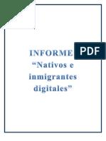 Informe Nativos e Inmigrantes Digitales DANI