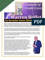Warren Buffet - An Investor Turns Moneylender
