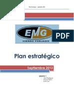 PLAN ESTRATEGICO EMG