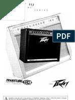 Peavey Bandit 112 (silverstripe / black box) users manual