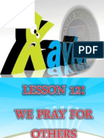 DAY 2 LESSON 12 WE PRAY FOR OTHERS.ppt