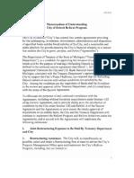 20121113 Detroit Reform Agenda Milestone Agreement