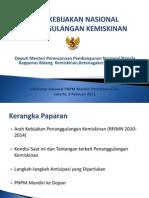 Arah Kebijakan Nasional Penanggulangan Kemiskinan