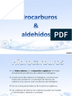 hidrocarburos aldehidos