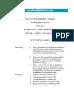 Permen No.1 Th 1995 Ttg Tata Cara Pembuatan Kkb