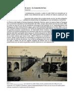 La Recova y el puerto de Asunción