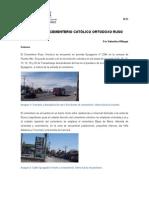CEMENTERIO CATÓLICO ORTODOXO RUSO