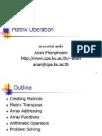 2004 03 Matrix Operation