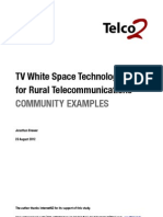 Telco2 Whitespace Study Community Examples Final