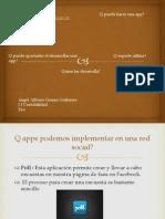 Applicaciones interactivas