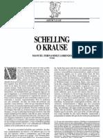 Schelling o Krause