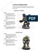 Horus Heresy Painting Guide