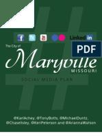 City of Maryville Social Media Plan