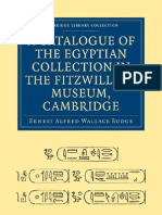 (Cambridge Library Collection - Cambridge)Ernest Alfred Wallace Budge-A Catalogue of the Egyptian Collection in the Fitzwilliam Museum, Cambridge (Cambridge Library 1893