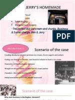 ben & jerry case study PPT