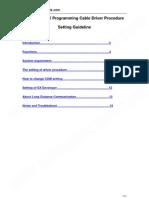 Usb Sc09 Fx User Manual