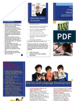 NELA Middle School Developmental Brochure