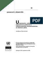 Urbanizacion y Transformaciones Espaciales a.L