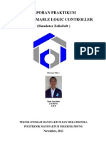 PLC (Programmable Logic Control) dengan simulator Zelio Soft