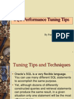 2713894 Oracle Tuning Tips