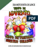 GUIA DE DEVOCIONALES DOMINICALES DE ADVIENTO  2012