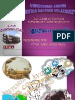 MARKETING Y PRODUCCIÓN