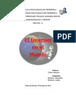 Trabajo de Tic El Internet en El Mundo