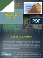 DISEÑO DE PRESAS DE TIERRA