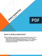 Mobile Marketing PowerPoint