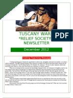 December 2012 RS Newsletter