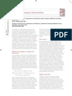 Cardiopulmonary Interactions